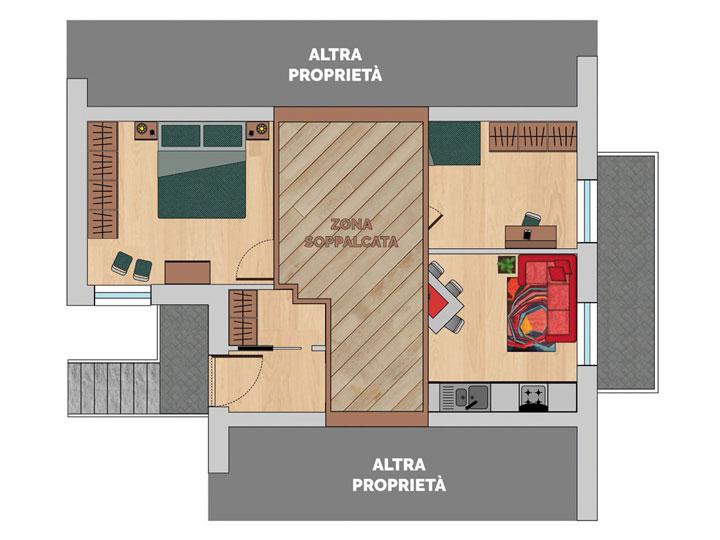 Residenza Bosentino primo piano